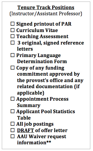 Prior approval request par process office of the executive vice job postings and applicant pool statistics are not necessary for adjunct visiting and modified service faculty or for courtesy 0 appointments of expocarfo Choice Image