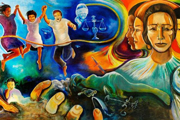 Campus mural